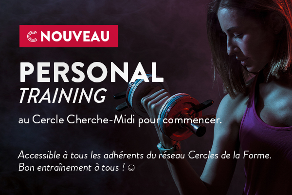 Personal Training Popup