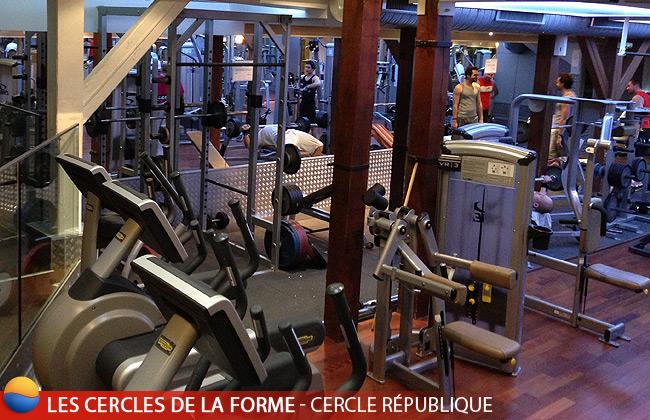 Cercles de La Forme - Machines de sport du Cercle République