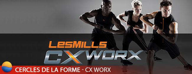Cours de CxWorx à Paris - Fitness Les Mills - Cercles de la Forme