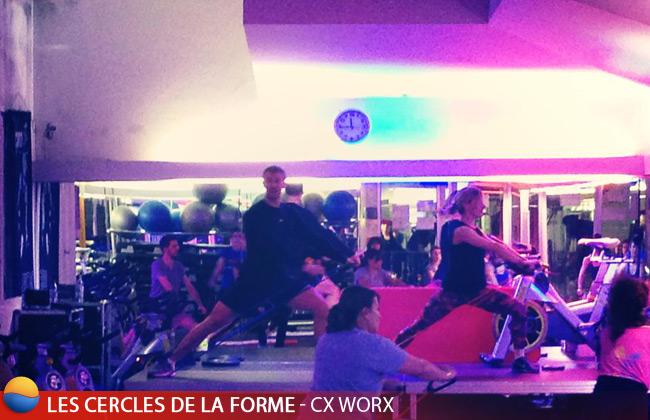 Cours de CX WORX aux Cercles de La Forme