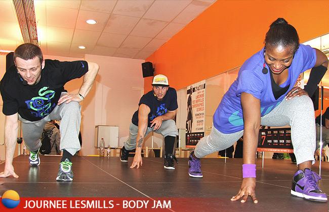 Body Jam au Cercle Ornano pour la journée LesMills