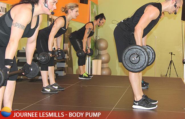 Body Pump au Cercle Ornano pour la journée LesMills
