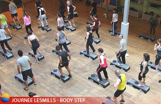 Journée évènement LesMills au Cercle Ornano - Body Step