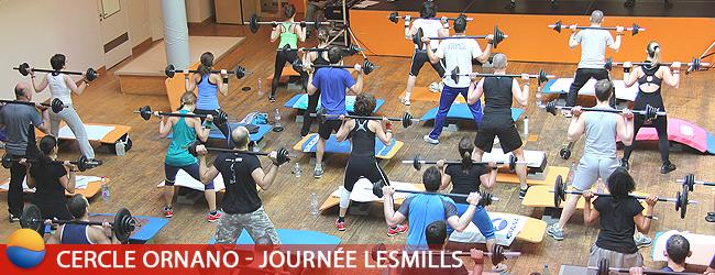 Journée Evènement LesMills au Cercle Ornano