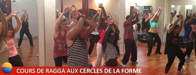 Cours de Ragga à Paris aux Cercles de la Forme