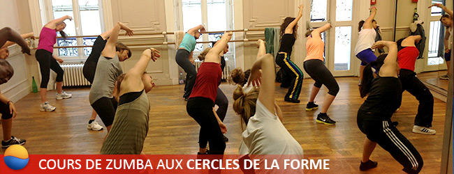 Cours de zumba paris cercles de la forme - Cercle de la forme porte de versailles ...