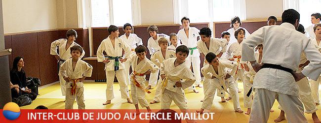 Inter-Club de Judo au Cercle Maillot du Samedi 1er Juin