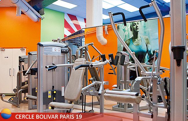 Cercle Bolivar, salle de sport Paris 19