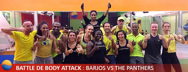 Battle de body attack barjos vs the panthers cercle ornano paris - Cercle de la forme porte de versailles ...