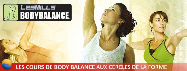 Cours de Body Balance aux Cercles de la Forme