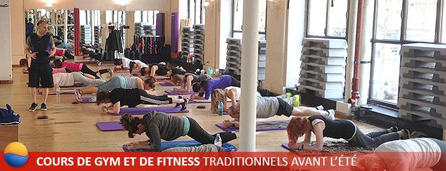 Cours de gym et de fitness traditionnels avant l t les cercles de la forme - Cercle de la forme porte de versailles ...