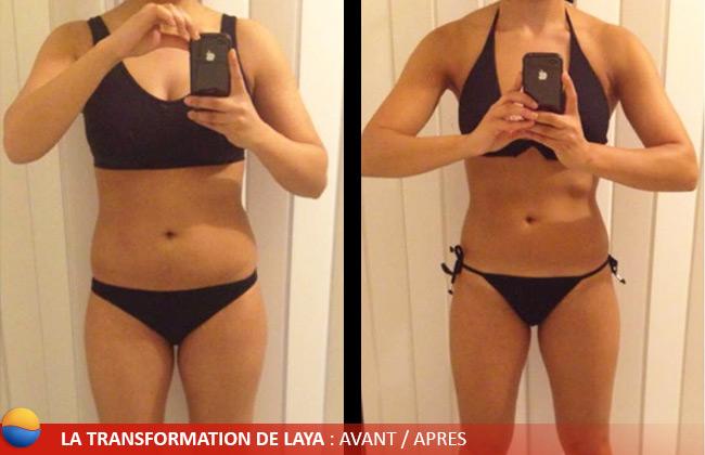 Transformation de Laya : Avant/après