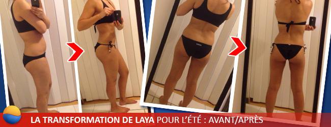 Transformation de Laya pour l'été : Avant/Après