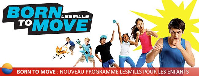 Born To Move, programme enfants LesMills