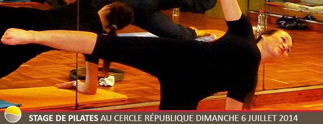 Stage de Pilates au Cercle République