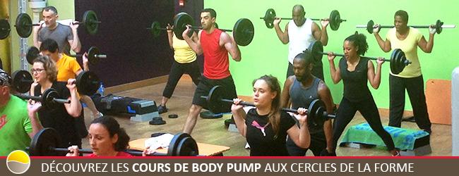 Cours de Body Pump aux Cercles de la Forme