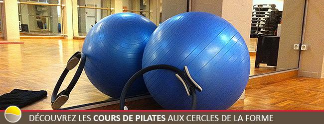 Entrainement cours de Pilates aux Cercles de la Forme