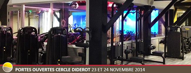 Cercle diderot portes ouvertes les 23 et 24 novembre 2014 - Cercle de la forme porte de versailles ...