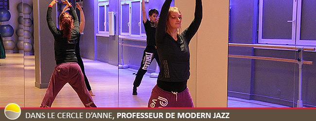 Interview Anne, professeur de danse, Modern Jazz
