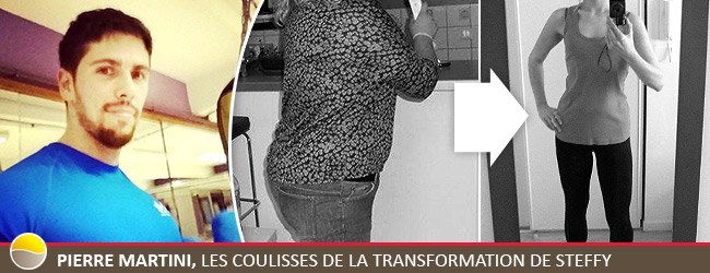 Pierre Martini - Coach Cercles de la Forme, interview transformation Steffy