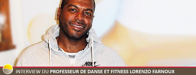 Interview exclusive du professeur de danse et Fitness Lorenzo Farnoux