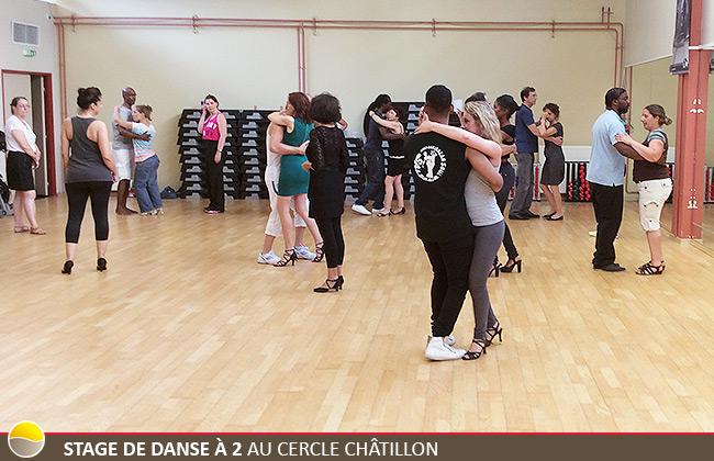 Stage de Danse à 2 au Cercle Châtillon