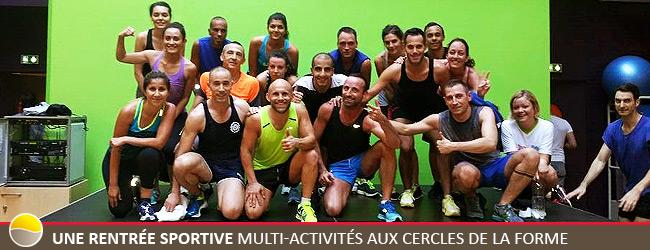 Une rentrée sportive multi-activités aux Cercles de la Forme