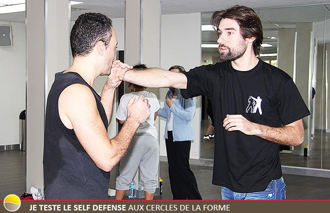 Je teste le Self Defense aux Cercles de la Forme