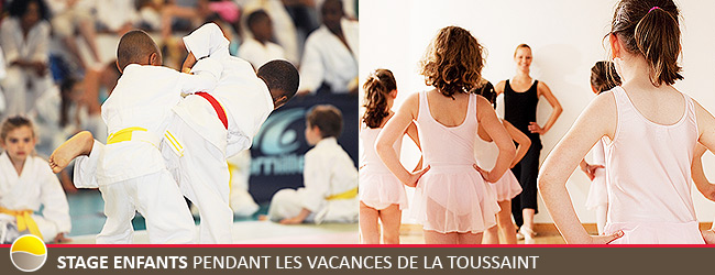 Stage Enfants pendant les Vacances de La Toussaint