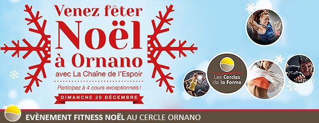 Evènement Fitness Noël au Cercle Ornano