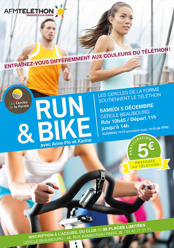 Evénement Téléthon, Run & Bike