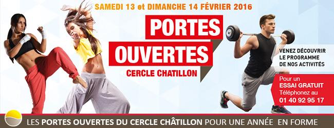 Les Portes Ouvertes du Cercle Châtillon pour une année en forme