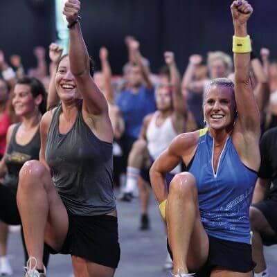 Cours de renforcement musculaire méthode Body Attack