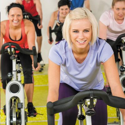 Cours de Biking en salle de sport