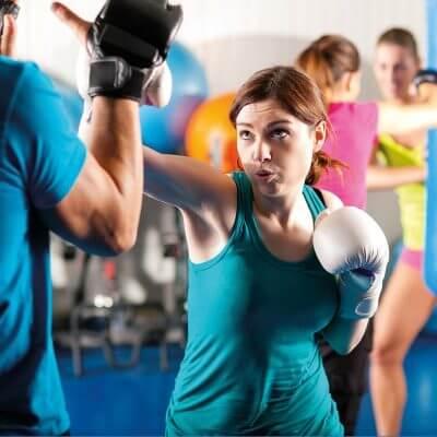Cours Homme et Femme Boxe Francaise