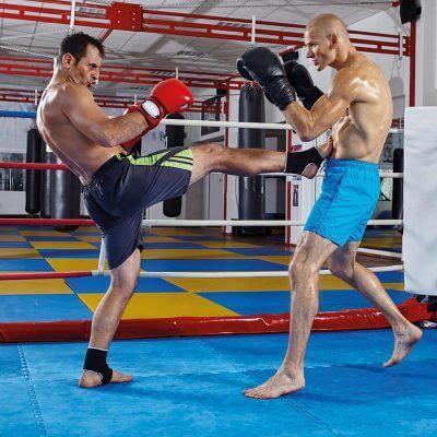 Front Kick Boxe Thai
