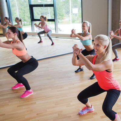 cours salle de sport culture physique