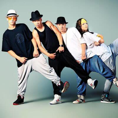 Chorégraphie de hip hop