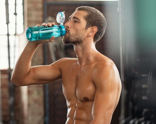hydratation pour soulager courbatures