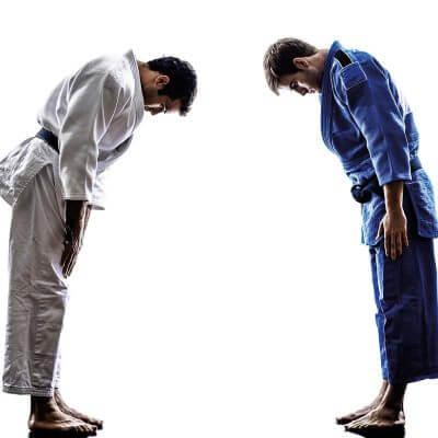 saluer au judo