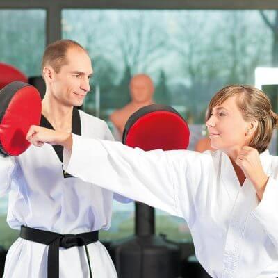 coup de pied taekwondo