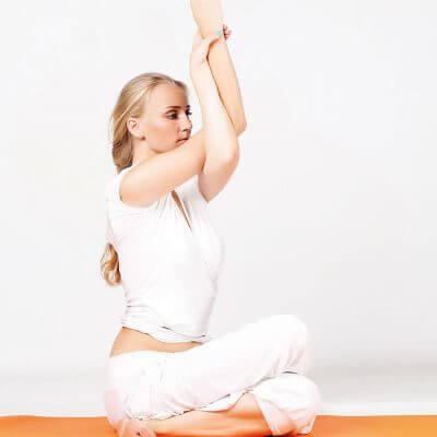 Séance yoga cercles de la forme